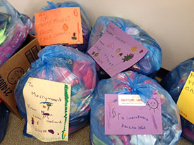 Oxford-Merrymount clothing donations