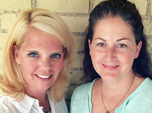 Shawna Allum-Schmidt and Cindy Hodgins
